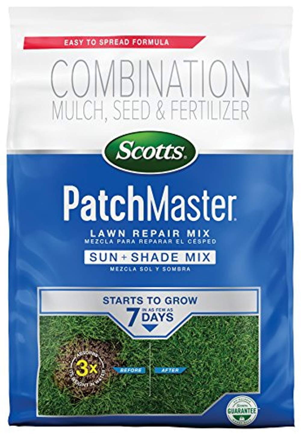 Scotts Patch Master Lawn Sun And Shade Mix 475 Lb 32247149051 Ebay